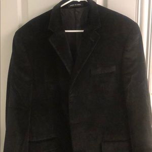 Velvet sports jacket